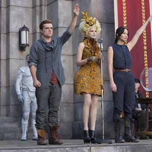 Die Tribute von Panem 2 - Catching Fire : Bild Elizabeth Banks, Jennifer Lawrence, Josh Hutcherson