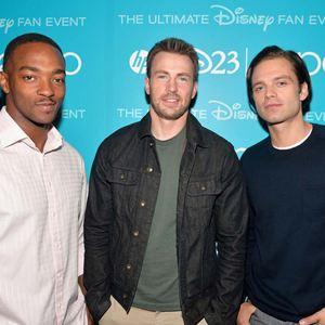 Captain America 2: The Return Of The First Avenger : Vignette (magazine) Anthony Mackie, Chris Evans, Sebastian Stan