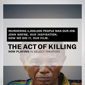 The Act of Killing : Kinoposter