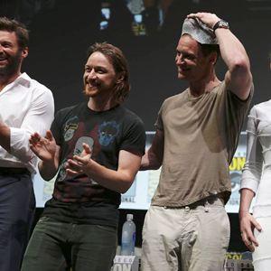 X-Men: Zukunft ist Vergangenheit : Vignette (magazine) Hugh Jackman, James McAvoy, Jennifer Lawrence, Michael Fassbender