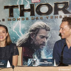 Thor 2 - The Dark Kingdom : Vignette (magazine) Natalie Portman, Tom Hiddleston