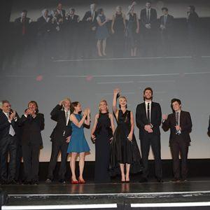 Die Tribute von Panem 2 - Catching Fire : Vignette (magazine) Elizabeth Banks, Francis Lawrence, Jennifer Lawrence, Josh Hutcherson, Liam Hemsworth