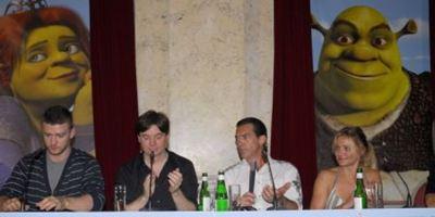 Shrek der Dritte: Der grüne Oger lädt zur stargespickten Pressekonferenz