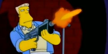 """Die Simpsons"": McBain-Szenen ergeben Kurzfilm"