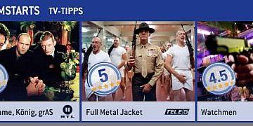 Die FILMSTARTS-TV-Tipps (1. bis 7. Juli)