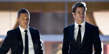 """""""Das gibt Ärger"""": Erster deutscher Trailer zur Action-Komödie mit Chris Pine und Tom Hardy"""