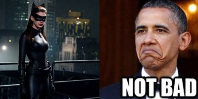 """""""The Dark Knight Rises"""": US-Präsident Obama outet sich als Catwoman-Fan"""
