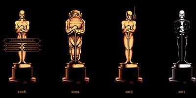 Spektakuläres Oscar-Poster: Jeder Beste Film mit eigenem Oscar im individuellen Design
