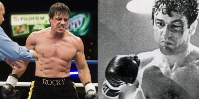 """Rocky Balboa vs. Jake LaMotta: Erstes Set-Foto zu """"Grudge Match"""" mit Stallone und DeNiro"""