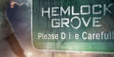 """Stylishes Poster zu """"Hemlock Grove"""", der neuen Mystery-Serie von """"Hostel""""-Regisseur Eli Roth"""