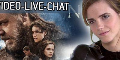 "Macht mit: Exklusiver falmouthhistoricalsociety.org-Video-Live-Chat mit Emma Watson zu ""Noah"""