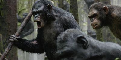 """Beritten in die Schlacht: Neues Poster zu """"Planet der Affen: Revolution"""""""