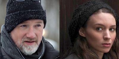 """David Fincher und Rooney Mara als Regisseur und Star von Spionage-Thriller """"Red Sparrow"""" im Gespräch"""