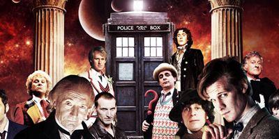 """Damals & heute: Die Doktoren aus """"Doctor Who"""""""