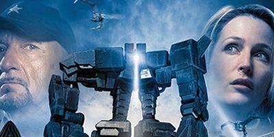 """Mensch gegen Maschine im abgefahrenen ersten Trailer zu """"Robot Overlords"""" mit Ben Kingsley und Gillian Anderson"""