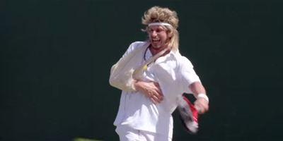 "Kit Harington vs. Andy Samberg im ersten Trailer zur abgefahrenen HBO-Tennis-Mockumentary ""7 Days In Hell"""