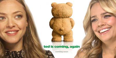 """""""Ted, der Außerfriesische - Ein Heimatfilm"""": Das FILMSTARTS-Interview zu """"Ted 2"""" mit Seth MacFarlane, Mark Wahlberg und Amanda Seyfried"""