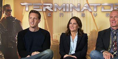 """Spoilern tut nicht weh: FILMSTARTS-Interview zu """"Terminator: Genisys"""" mit Emilia Clarke, Jai Courtney, Jason Clarke und Regisseur Alan Taylor"""