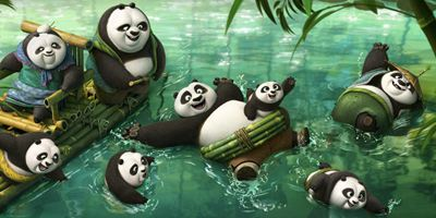 """Kung Fu Panda 3"": Neue Konzeptbilder vom Panda-Dorf"