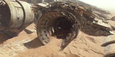 """""""Star Wars 7"""" mittendrin: Im 360-Grad-Video braust ihr im Speeder an einem Sternzerstörer vorbei"""