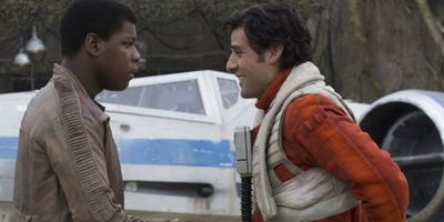 """""""Star Wars - Episode VII""""-Fanart: So stellen sich Internetkünstler die Liebesbeziehung zwischen Poe und Finn vor"""