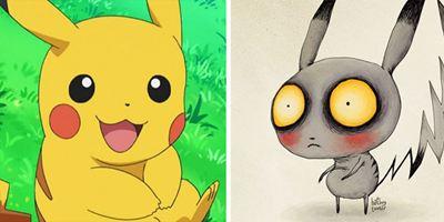 """Wenn Tim Burton """"Pokémon"""" gemacht hätte!"""