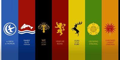 """Fan-Kunst: So würden die Wappen der """"Game Of Thrones""""-Häuser als Pokémon aussehen"""
