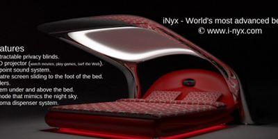 Video: Dieses Bett ist auch gleichzeitig ein Kino