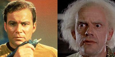 """""""Zurück in die Zukunft"""" trifft """"Star Trek"""": Christopher Lloyd erlebt gemeinsam mit William Shatner einen """"Senior Moment"""""""