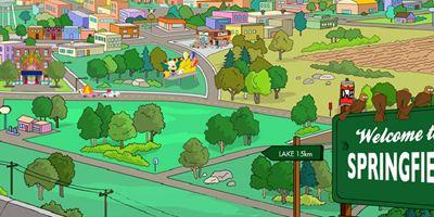 """Wie Google Maps für Springfield: Zum 30. Geburtstag der """"Simpsons"""" gibt's eine interaktive Mega-Karte"""