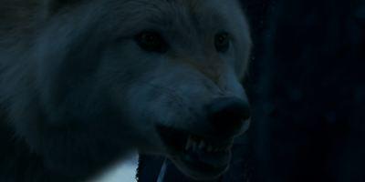 """""""Game Of Thrones"""": Weitere Szene mit einem Schattenwolf wurde aus der jüngsten Episode geschnitten"""