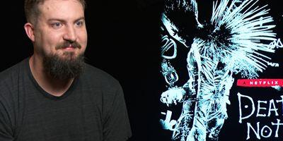"""Das FILMSTARTS-Interview zum """"Death Note""""-Realfilm: Wessen Namen würde wohl Regisseur Adam Wingard in sein tödliches Notizbuch schreiben?"""
