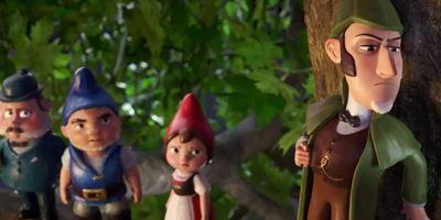 """""""Sherlock Gnomes"""": Johnny Depp als Detektiv-Gartenzwerg im ersten Trailer zu """"Gnomeo und Julia 2"""""""