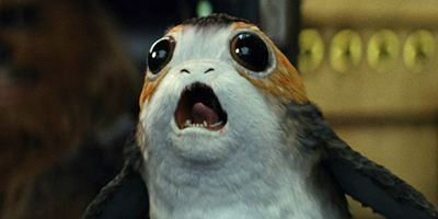 """""""Star Wars 8"""": Im neuen TV-Trailer haut Chewie einen Porg weg"""