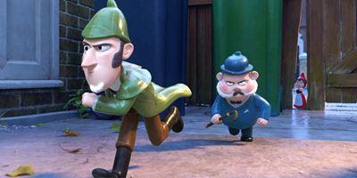 """""""Sherlock Gnomes"""": Im neuen deutschen Trailer kann nur noch ein Mini-Meisterdetektiv Gnomeo und Julia retten"""
