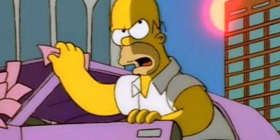 """Die britische Polizei erwischt """"Homer Simpson"""" beim Fahren ohne Führerschein"""
