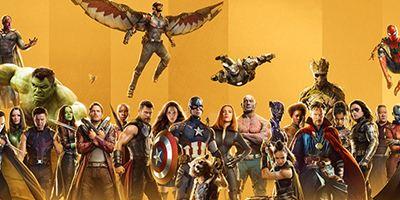 """Goldenes MCU-Jubiläum: 33 prächtige Marvel-Figurenposter zeigen die wichtigsten Helden aus """"Avengers 3"""" & Co."""