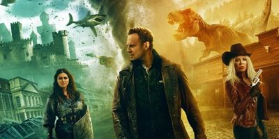 """4 neue Poster zu """"Sharknado 6"""":  Ian Ziering & Co sind bereit für die finale Schlacht!"""