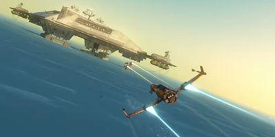 """""""Star Wars"""" in ungewohntem Look: Der 1. Trailer zur neuen Serie """"Star Wars Resistance""""!"""