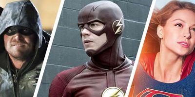 """Arrow"", ""The Flash"", ""Supergirl"": Erstes Bild von Black Superman im Mega-Crossover"
