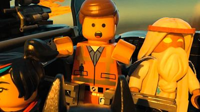 "Channing Tatum als Superman, Jonah Hill als Green Lantern und Cobie Smulders als Wonder Woman in ""The Lego Movie"""