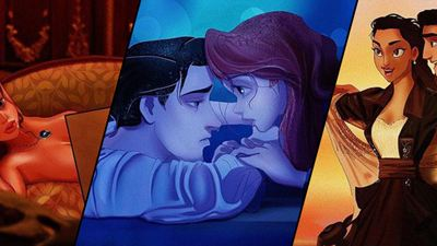 """Anstelle von Leonardo DiCaprio und Kate Winslet: Disney-Prinzessinnen und -Prinzen als Jack und Rose aus """"Titanic"""""""