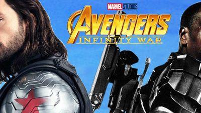 """The Road to """"Infinity War"""" - Die Avengers aus der zweiten Reihe: Wer sind Falcon, Bucky Barnes und War Machine?"""