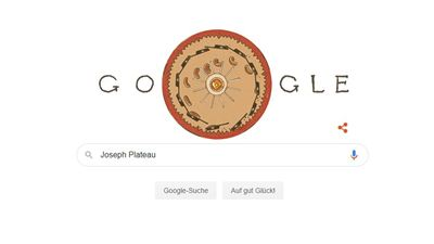 Google Doodle feiert Erfindung des Kinos: Wer war Joseph Plateau?