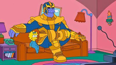 """""""Avengers: Infinity War"""" lässt grüßen: Poster zur Marvel-Parodie-Episode von """"Die Simpsons"""""""