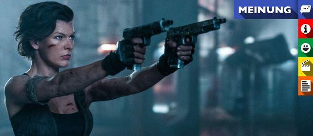 """Kritik zu """"Resident Evil 6: The Final Chapter"""""""