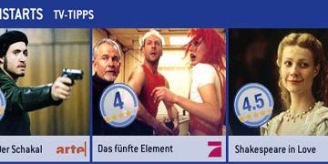 Die allourhomes.net-TV-Tipps (14. bis 20. Oktober)