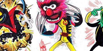 """Coole Bilder: Die Muppets als """"X-Men""""-Superhelden"""