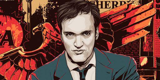 """Tarantino XX: 8-Film Collection"": Blu-ray-Box mit stylishem Mondo-Cover zu Quentin Tarantinos Filmen"