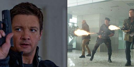 "Deutsche Charts: ""Das Bourne Vermächtnis"" mustert die Action-Opas aus ""The Expendables 2"" aus"